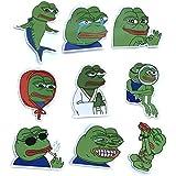 2x2 Pepe The Frog Kek Sticker