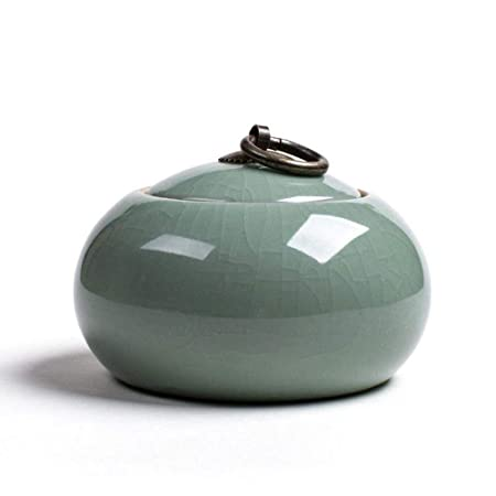 HuXwei GE Horno Bote de cerámica Vasos de té pequeños Envases Caja ...