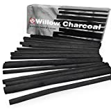 Royal Talens – Artist Sketching Willow Charcoal Sticks - Thick 7-12mm – Pack of 20