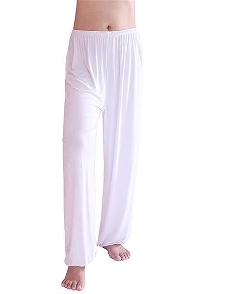 COCOUSM Unisex Soft Modal Spandex Yoga Pants