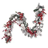 6-Foot Christmas Garland Use Appropriate for Indoor and Outdoor