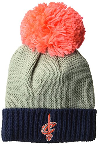 NBA Women's Cuffed Knit Hat with Neon Pom – DiZiSports Store