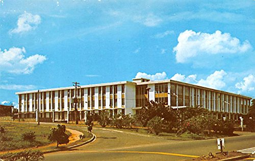 Government office municipal building Santiago Dominican Republic Postcard