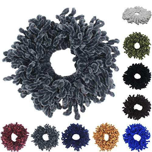 10 PCS Elastic Hair Ties Rubber Band Ropes Ring Scrunchie Women Girl Sweet HV