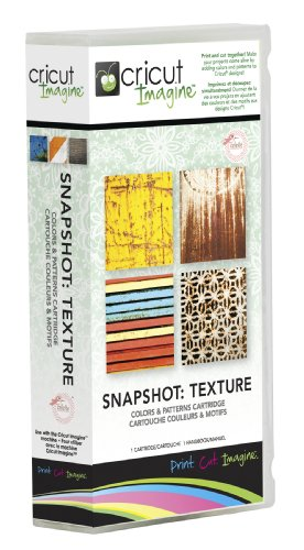 - Cricut Imagine Cartridge, Snapshot-Texture