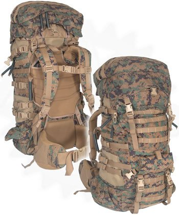 USMC DIGITAL MARPAT ILBE ARCTERYX GEN 2 (Nylon, x-large), Outdoor Stuffs