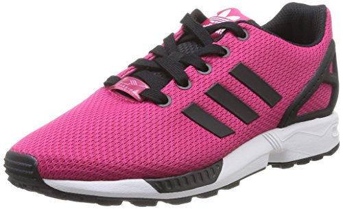 74db822b33bf Adidas Originals ZX Flux GS Trainers in Bold Pink   Core Black M19387  UK  6.5 EU 40   Amazon.co.uk  Shoes   Bags