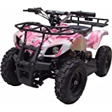 XtremepowerUS Mini Electric Sonora Quad Battery-Powered ATV Pink - Best Reviews Guide
