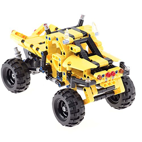 BIOZEA Educational Toy Technical Building Blocks Pullback Racing Car Challenger Truck 402pcs for Children 7-14 Years old