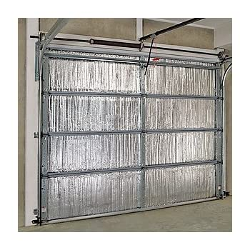 Garage door insulation kit insulate up to a 18x8 ft for Insulated garage doors reviews