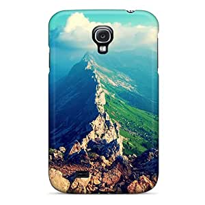 Slim Fit Tpu Protector Shock Absorbent Bumper Amazing Mountain View Case For Galaxy S4