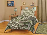 American Kids Camo Block Comforter Set, Full