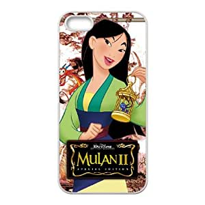 Mulan II iPhone 5 5s Cell Phone Case White I0468023