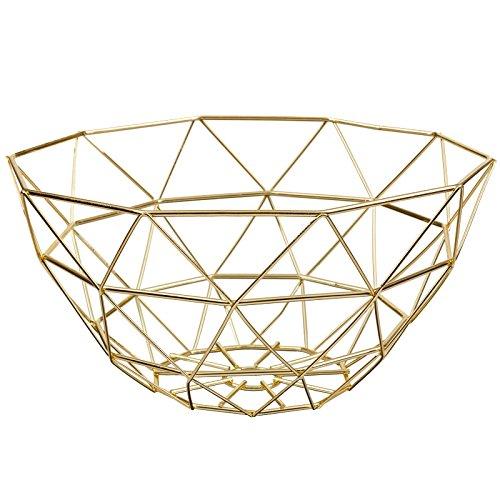 Amazing New Design Wire Fruit/Vegetable Basket Display Kitchen Storage Home- (Copper) 328784