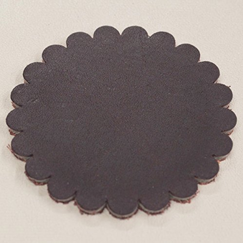 Leather Rosette (12 pack - Leather Concho Rosette 2