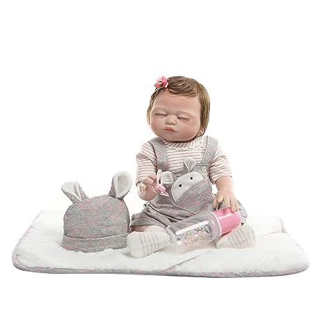 Muñeca realista de juguete para bebé de 19 pulgadas, vinilo ...