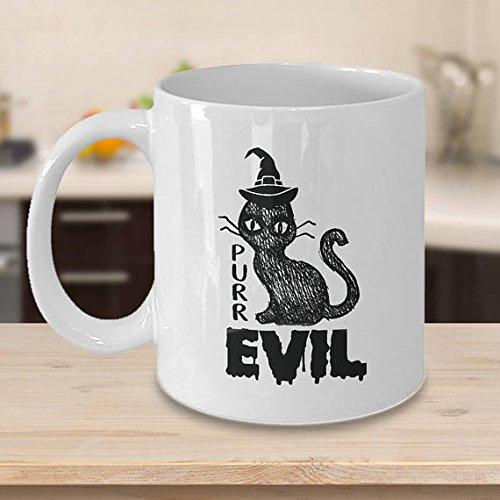 Pure Evil, Happy Halloween, Halloween Mug, Halloween Gifts, Halloween Lover, Halloween Glass, Funny Halloween Gift,