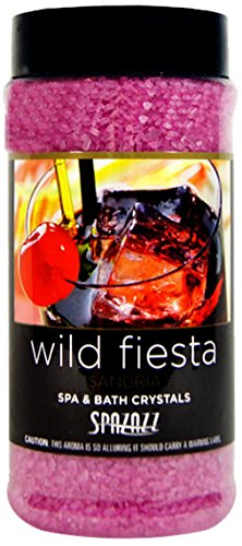 Spazazz Set The Mood Crystals Container, 17-Ounce, Sangria/Wild Fiesta