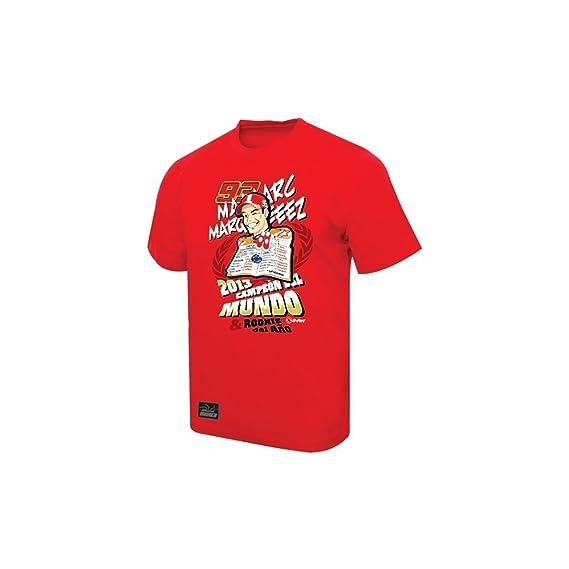 jakość wykonania unikalny design świeże style Marc Marquez 93 MotoGP World Champion T-Shirt Red: Amazon.co ...