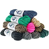 """Paracord Planet Tactical 5-Strand Nylon Core 275-LB Tensile Strength Paracord Rope 3/32"""" (2.38mm Diameter)"""
