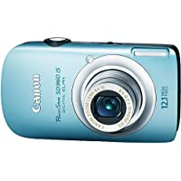 Canon PowerShot SD960IS 12.1 MP Digital Camera with 4x Wide Angle Optical Image Stabilized Zoom and 2.8-inch LCD (Light Blue) Review Review Image