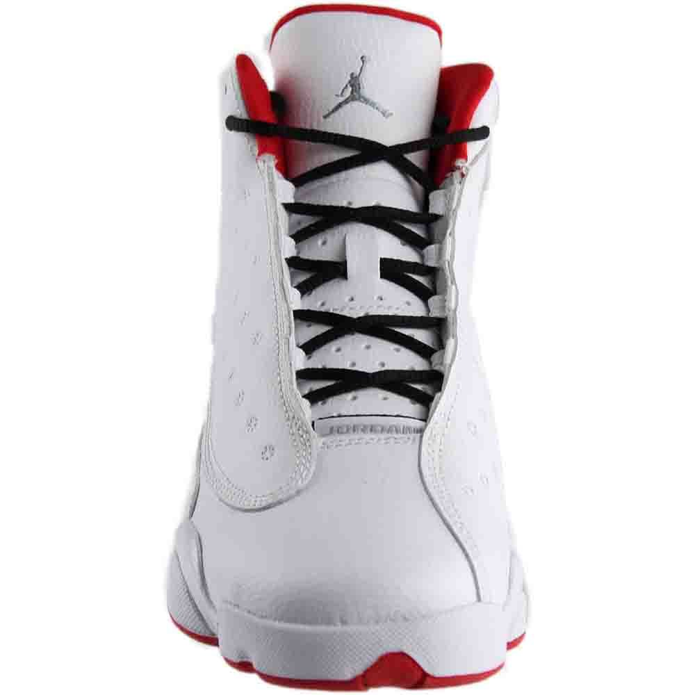 hommes / femmes en jordanie blanc petit air 13 rétro bg, blanc jordanie ou rouge métallisé à l'université queen av12700 simple qualité 73c8d8