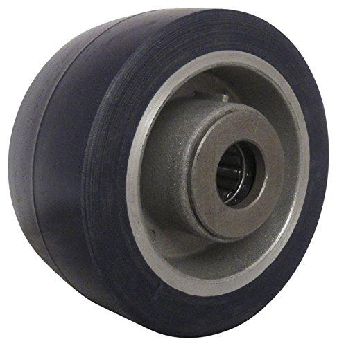 RWM Casters UAR-0420-08 4'' Diameter X 2'' Width Urethane on Aluminum Wheel with Straight Roller Bearing, 700 lbs Capacity