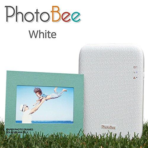 Photobee Portable Wifi Photo Printer - White