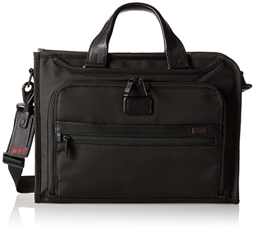 Tumi Alpha 2 Slim Deluxe Portfolio, Black, One Size by Tumi