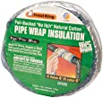 """Frost King CF42X Foil Backed """"No Itch"""" Natural Cotton Pipe Wrap, 3-Inch x 1-Inch x 25-Feet"""