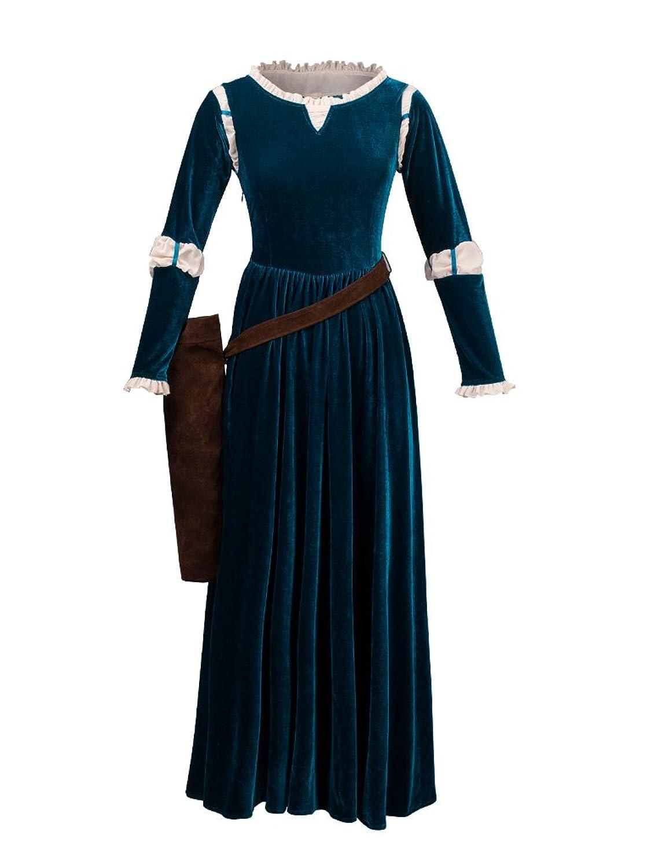 Princess Merida Dress & Quiver Brave Costume - DeluxeAdultCostumes.com