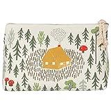 Danica Studio Linen Cosmetic Bag, Small, Retreat