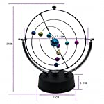 ScienceGeek Kinetic Art Asteroid – Electronic Perpetual Motion Desk Toy Home Decoration
