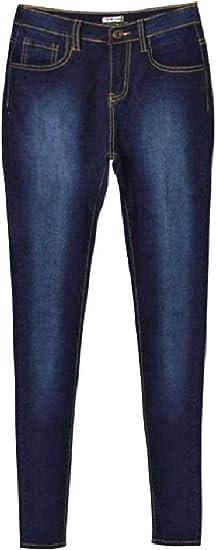 Nicellyer Womens Destroyed Washed Denim Jeans Jeggings Vogue Tenths Pants