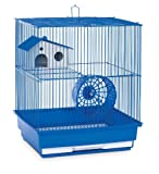 Prevue Hendryx Two Story Hamster and Gerbil Cage, Blue