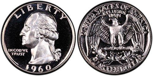 1960 Washington Quarter (1960 Washington Silver Proof Quarter 1/4 Proof US Mint)