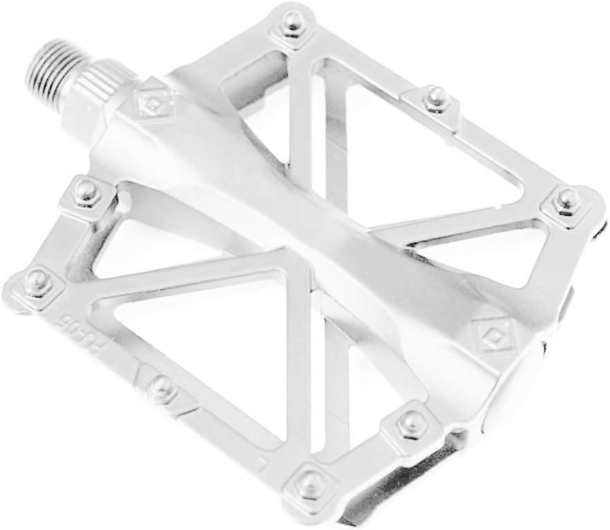Patpan Bicicleta de aleaci/ón de Aluminio Planas de la Plataforma Pedales para Bicicletas de monta/ña Carretera Pedales BMX MTB