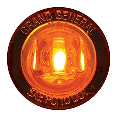 """GG Grand General 75280 1"""" Dual Function Mini Wide Angle LED Light for Trucks, Towing, Trailers, ATVs, UTVs, RVs: Automotive"""