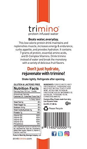 trimino-protein-infused-water-Peach-16-Ounce-Pack-of-12
