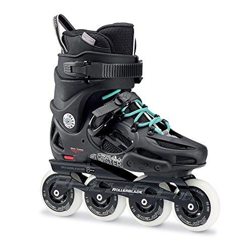 正気急勾配の結核RollerbladeレディースTwister 80 Skates &ヘッドバンドバンドル