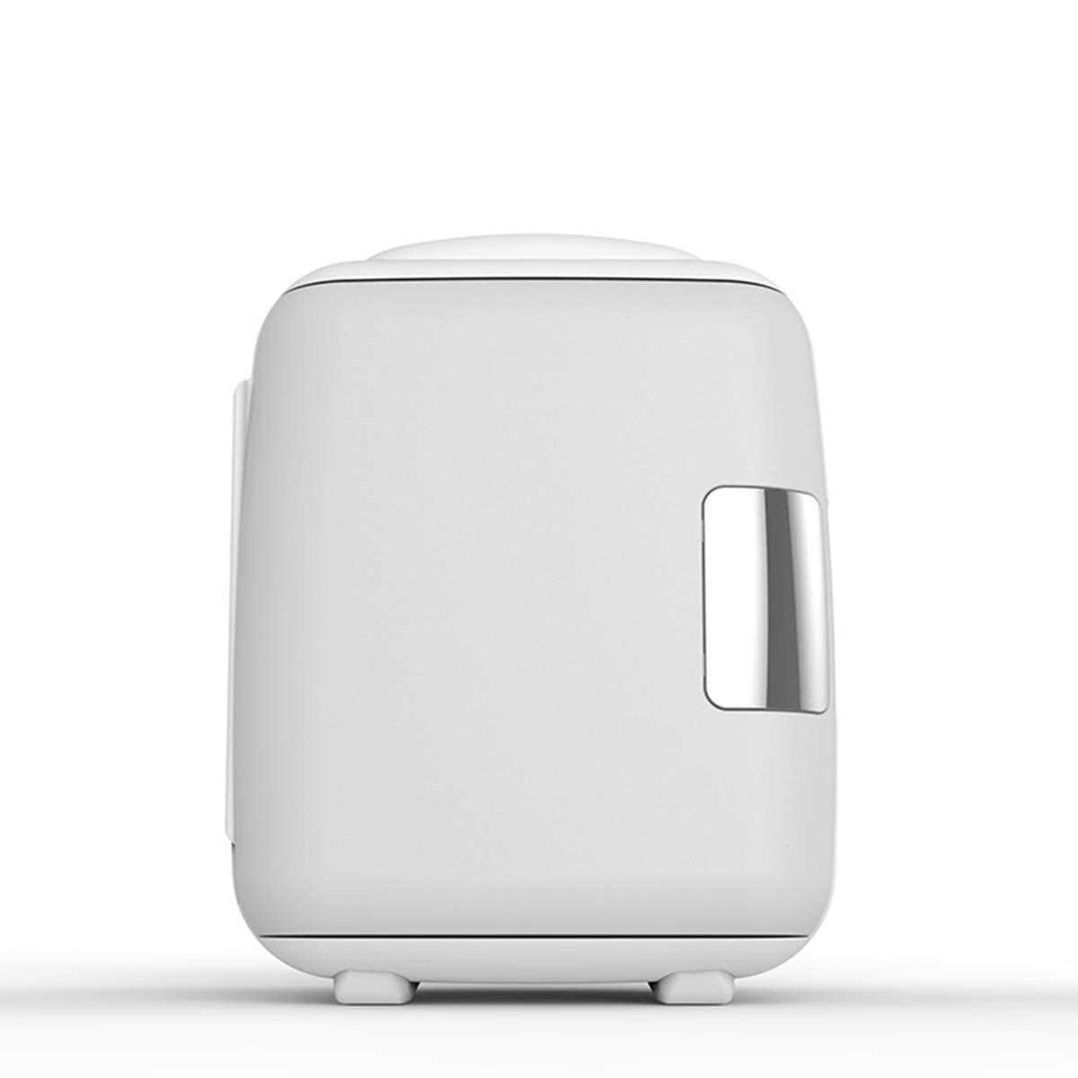 Dapang Compact & Portable Refrigerator Energy Star Single Door Mini Fridge with Freezer - Cools & Heats - AC & DC Power Cords,100% Freon-Free & Eco Friendly,Silver