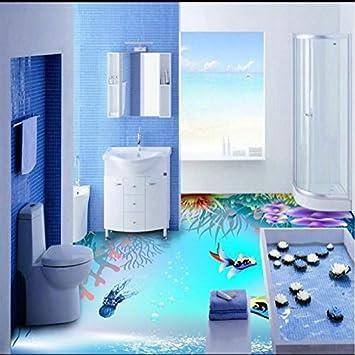 Sproud Benutzerdefinierte großes Wandbild Badezimmer Dusche Zimmer ...