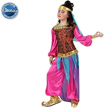 Atosa-10662 Disfraz Árabe, Color Fucsia, 10 a 12 años (10662 ...