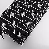 Crib Bumper - Black Arrows