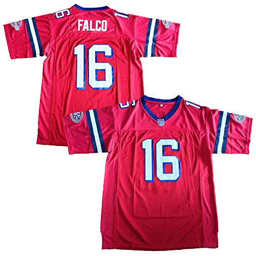 (The Replacements #16 Shane Falco Movie Football Jersey Red (Red, XXX-Large))