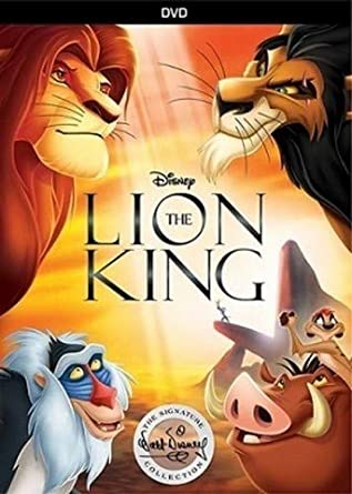 Very valuable lion king platinum edition dvd