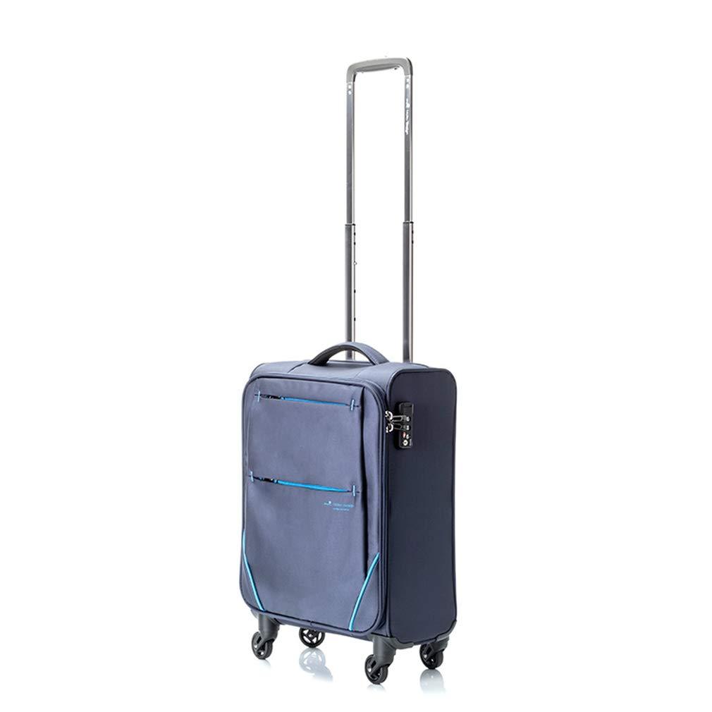 ヒデオワカマツ HIDEO WAKAMATSU フライⅡ スーツケース 85-76002 ネイビー 代引き不可[bg]   B07KHX83G9
