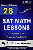 28 SAT Math Lessons to Improve Your Score in One