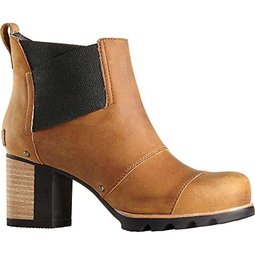 SOREL Women's Addington Chelsea Waterproof Boot,Autumn Bronze/Black,US 8.5 M