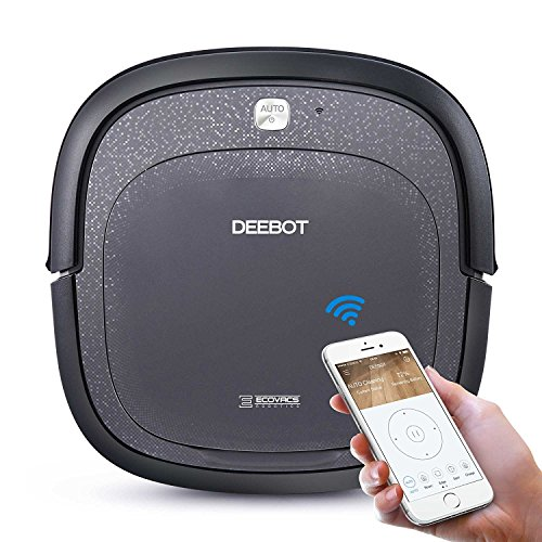 ECOVACS Slim Neo Robot Vacuum Cleaner with Compact Design, Sensor Navigation for Pet Hair, Fur, Allergens, Thin Carpet, Hardwood and Tile Floors